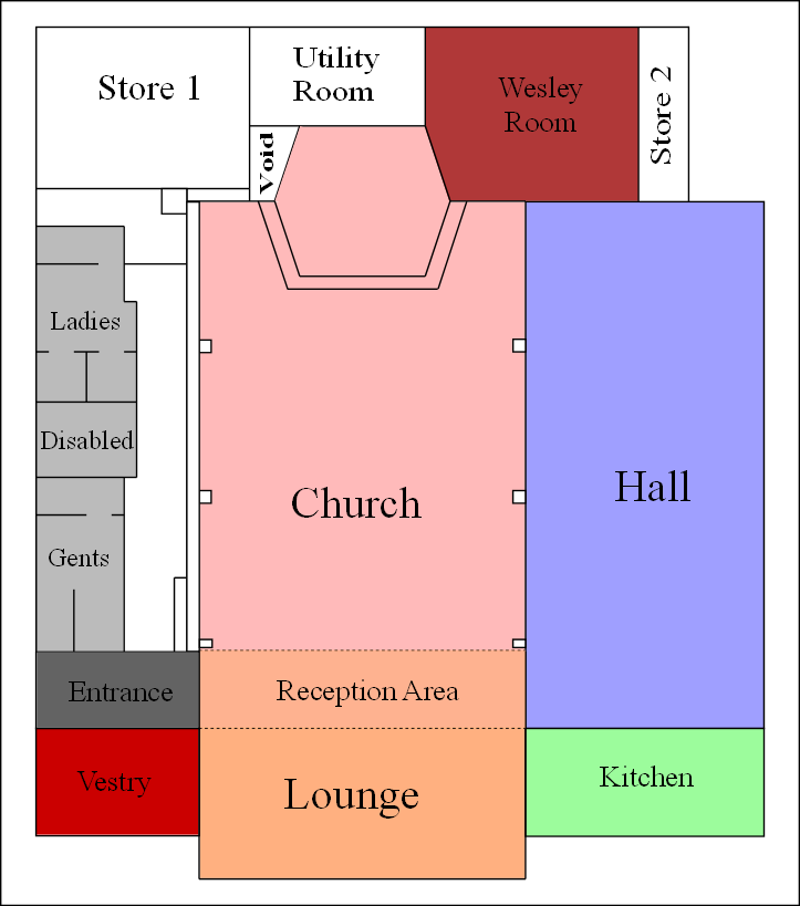 Church Floorplan